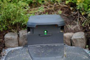 Grüne LED = alles richtig eingerichtet
